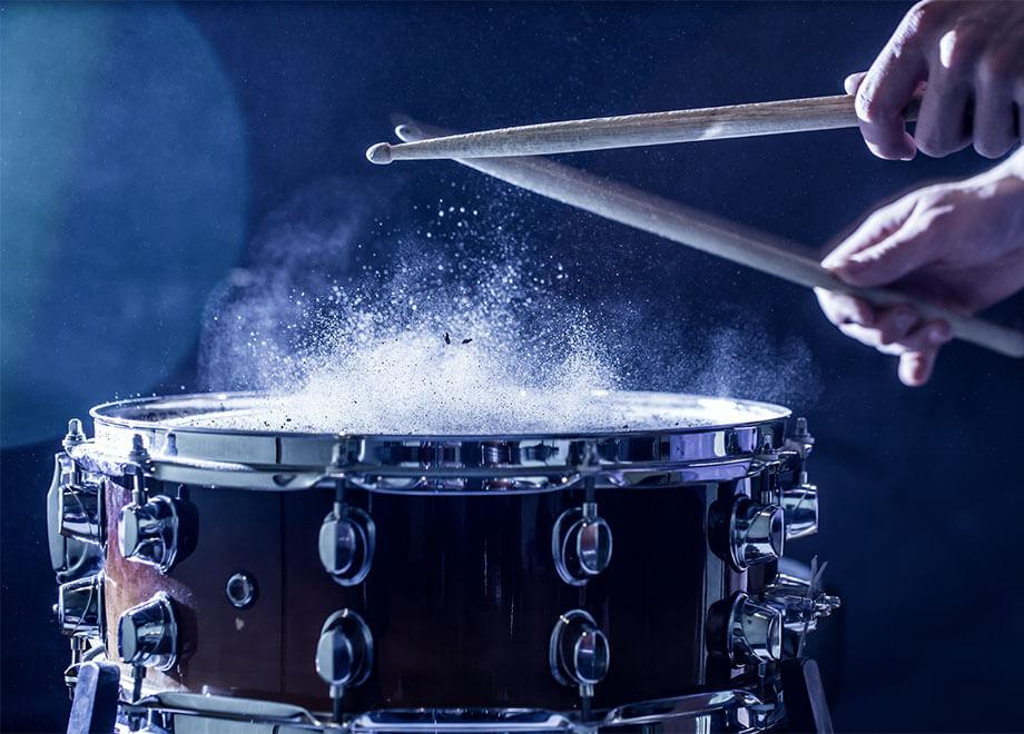 ドラム演奏のイメージ